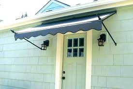 front door awnings metal front door awnings metal diy door awning ideas