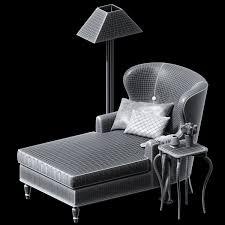 bernhardt logo. Bernhardt Nadine Chaise And Rh Lamp 3d Model Max Obj Fbx Dwg Mtl 4 Logo