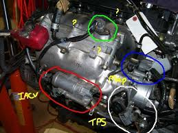 obd1 gsr into 94 hatch knock sensor 2 other sensors unknown now here is a pic of the gsr its stock gsr harness