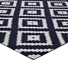 abstract diamond trellis area rug ivory and navy southwestern area rugs by ladder