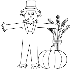 Small Picture Printable Scarecrow Coloring Pages Scarecrow 17046
