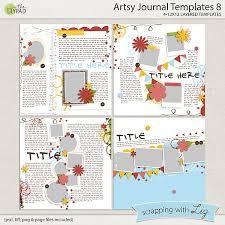 Journal Templates Artsy Journal Templates 8