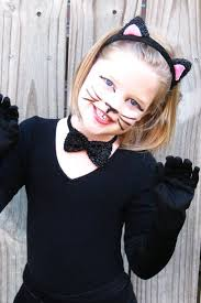 easy cat costume makeup for kids