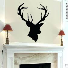 Fake Deer Antlers Wall Mount High Quality Vinyl Wall Sticker Home Decoration  Deer Antlers Nursery Room Wall Sticker Art Stickers Home Gold Deer Antlers  Wall ...