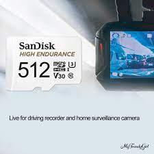 Điện Thoại Máy Tính Bảng 512gb / 1t Hỗ Trợ Thẻ Nhớ Tf Micro An Toàn Cho Xe  Hơi - Thẻ nhớ máy ảnh