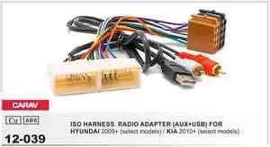 carav 12 039 car iso radio wiring harness adaptor cable plug for image is loading carav 12 039 car iso radio wiring harness