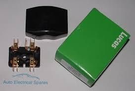 lucas 54038068 4fj 2 way fuse box glass fuses