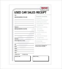 Auto Sales Reciept Autotrader Sales Receipt Template Automobile Sales Receipt Template