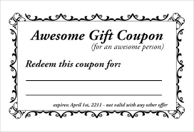 coupon templates word free coupon template word excel pdf templates free