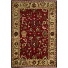value city furniture rugs area the home depot red compressed