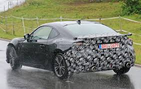 2017 Scion FR-S / Toyota GT 86 Facelift Spied Testing More ...
