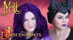 descendants mal maleficent makeup tutorial costume wigs diy kittiesmama
