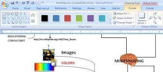 how to build a mind map in microsoft wordmind map in word