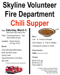 chili supper flyer champion news chili supper