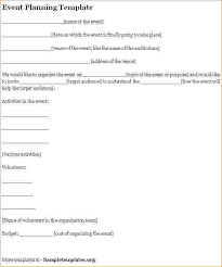 sample event planner contract template event planning contract templates