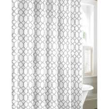 white and grey shower curtains. Plain And Tommy Bahama Shoretown Trellis Grey Cotton Shower Curtain Throughout White And Curtains R