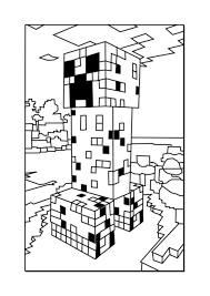 Small Picture Download Coloring Pages Printable Minecraft Coloring Pages