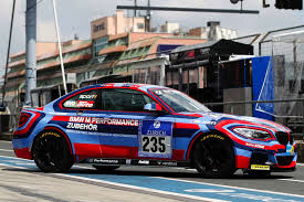 BMW Convertible bmw m235i race car : BMW M235i Racing Dressed as Art Car to Race on the Ring this ...