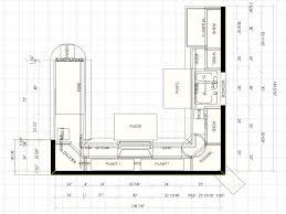 Small U Shaped Kitchen Floor Plans Home Design