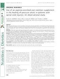pdf use of an arginine enriched