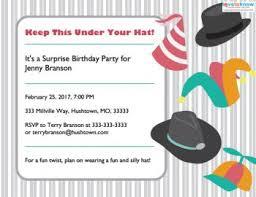 Birthday Invitations Printable Printable Surprise Party Invitations Lovetoknow