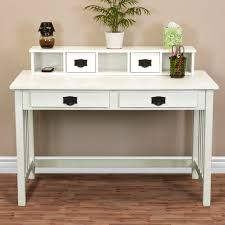 white home office desk. wooden home office desk leaning shelf bookcase with computer furniture white n