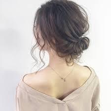イイ女は後ろ姿が素敵思わず見とれるヘアアレンジ 7選 Locariロカリ