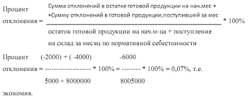 Отчет по практике Организация учета в ООО Агрофирма  1 Рассчитаем процент отклонений отклонений в отгруженной реализованной продукции