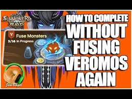veromos fusion chart summoners war how to complete fusion challenge without fusing veromos again
