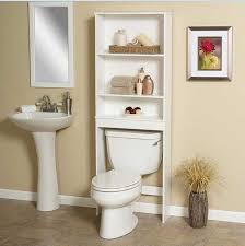 painting shelves ideasSmall Bathroom Shelving Ideas White Polished Wooden Wall Mount