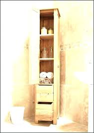 slim cabinet for bathroom storage tall luxury drawers black61 tall