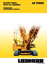 Liebherr Lr 11000 Specifications Cranemarket