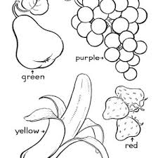 Small Picture Coloring Pages Of Fresh Fruit and Vegetables Fantasy Coloring