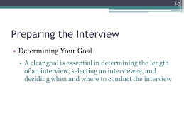 How To Conduct An Informational Interview Chapter 5 The Informational Interview Copyright 2011 By The Mcgraw