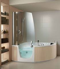 bathtub shower combo for small bathroom best of small corner bathtub with shower hot tubs