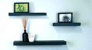 floating shelves with led lights black shelf in large size small glass ikea uk light glass shelf clip kits floating