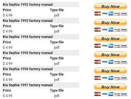 kia sephia 1992 1993 1994 1995 1996 1997 factory manual kia sephia 1992 1993 1994 1995 1996 1997 repair manual