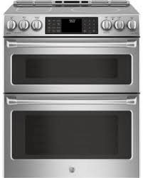 ge induction range. GE Cafe Series CHS995SELSS - Front View Ge Induction Range E