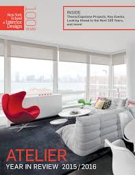 Color For Interior Design Ethel Rompilla Atelier Year In Review 2015 2016 By New York School Of
