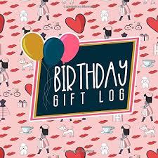 Birthday Gift Log Gift Book Record Gift Recorder Gift
