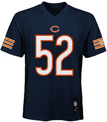 Outerstuff Khalil Mack Chicago Bears Nfl Youth 8 20 Navy Home Mid Tier Jersey