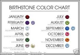 Birthstone Crystals Chart September Birthstone Sapphire Blue Crystal Silver Angel