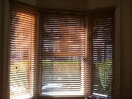 Wood Window Treatments Ideas Bay Window Blinds Wooden Venetian Blinds Surripuinet