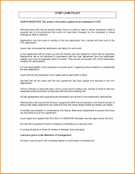Employee Loan Agreement Template Certificate Of Employment Sample Form Best Of Employee Loan 5