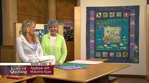 Love of Quilting Preview: Easy Pictorial Appliqué with McKenna ... & Love of Quilting Preview: Easy Pictorial Appliqué with McKenna Ryan  (Episode 2004) Adamdwight.com