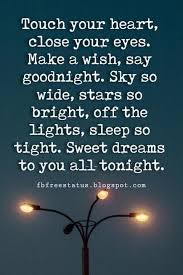 Beautiful Quotes That Touch The Heart Best of Sweet Good Night Quotes With Beautiful Good Night Pictures