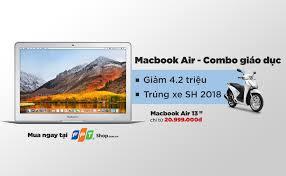 Mua Macbook Air tại FPT Shop, trúng xe SH 2018 thời thượng