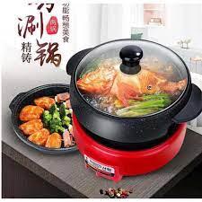 Nồi Lẩu Và Nướng Điện Well Cook TC-9200- N8200 - HQ (26cm)