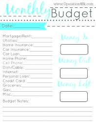 Weekly Budget Forms Monthly Budget Spreadsheet Pdf Basic Zero Based Budget Worksheet