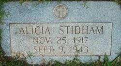 Alicia Stidham (1917-1943) - Find A Grave Memorial